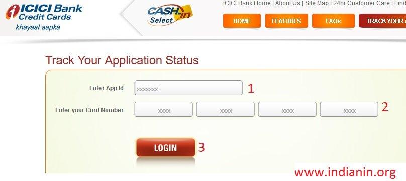 Icici Bank Check Credit Card Application Status