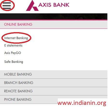 axis bank credit card status by application no